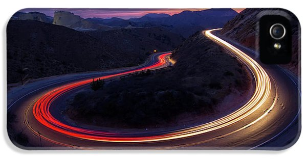 Headlights And Brake Lights IPhone 5 Case