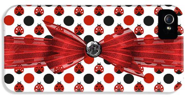 Healing Ladybugs IPhone 5 / 5s Case by Debra  Miller