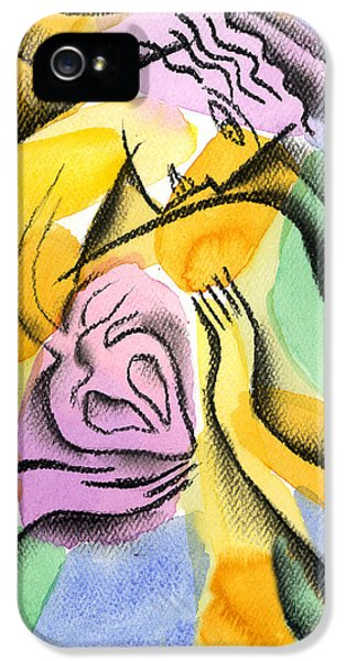 Heart IPhone 5 Case by Leon Zernitsky