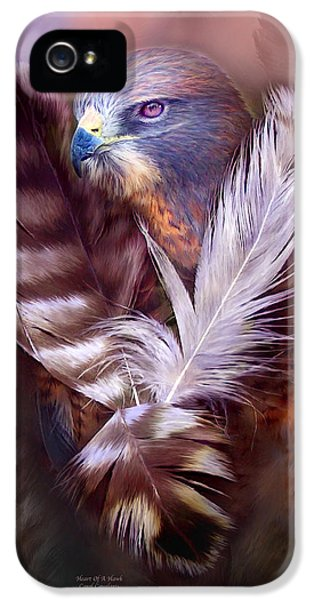 Heart Of A Hawk IPhone 5 Case