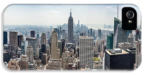 Empire State Building iPhone 5 Case - Heart Of An Empire by Az Jackson