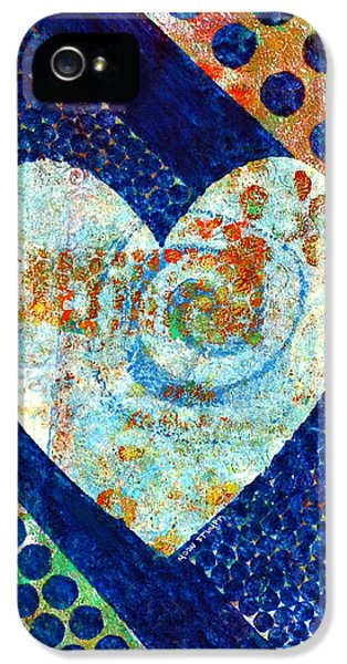 Heart Of Hearts Series - Elated IPhone 5 Case by Moon Stumpp