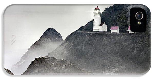 Heceta Head Lighthouse IPhone 5 Case by Leland D Howard