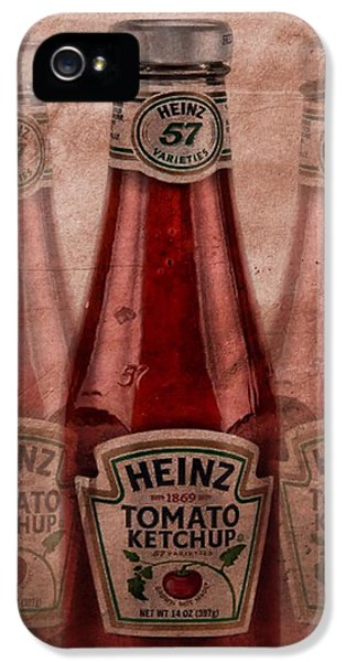 Heinz Tomato Ketchup IPhone 5 Case by Dan Sproul