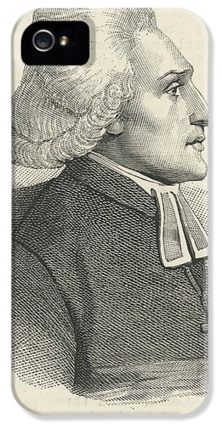 Constituent iPhone 5 Case - Henri Gregoire (abbe)  French Prelate by Mary Evans Picture Library