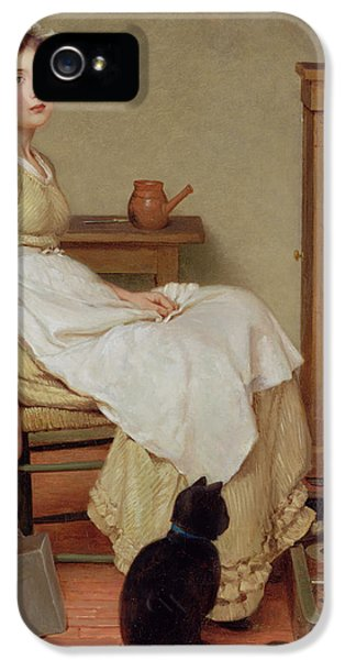 Her First Place IPhone 5 Case by George Dunlop Leslie