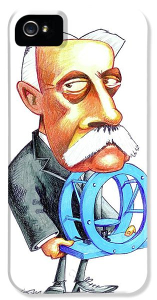 Hermann Von Helmholtz IPhone 5 Case by Gary Brown