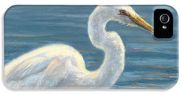 Heron Light IPhone 5 Case by Lucie Bilodeau