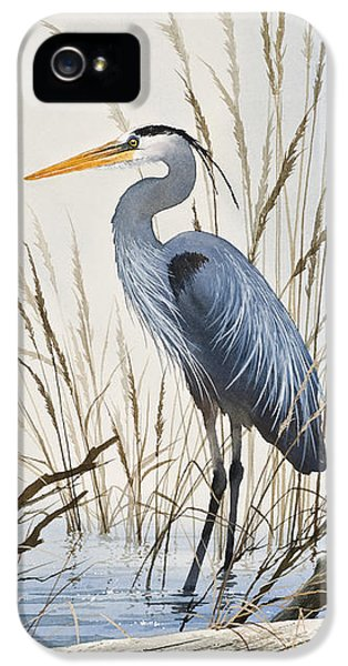 Herons Natural World IPhone 5 Case by James Williamson