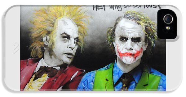 Hey, Why So Serious? IPhone 5 Case
