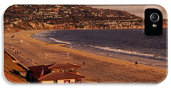 High Angle View Of A Coastline, Redondo IPhone 5 Case