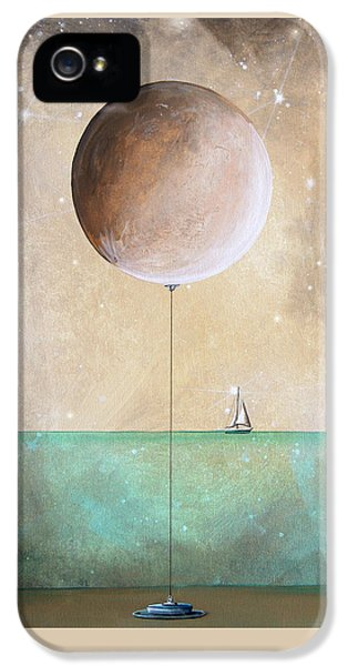 Illustrative iPhone 5 Case - High Tide by Cindy Thornton
