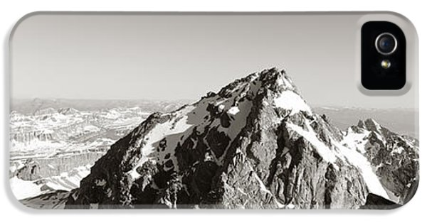 Hiker, Grand Teton Park, Wyoming, Usa IPhone 5 Case by Panoramic Images