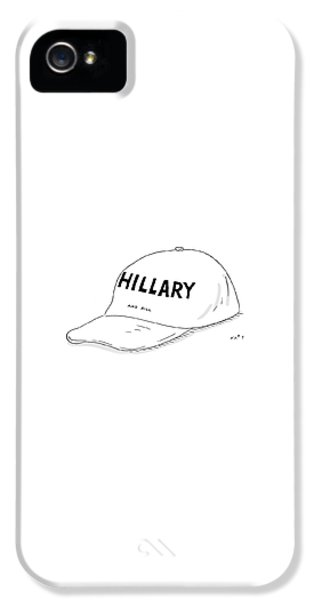 Hillary Clinton iPhone 5 Case - Hillary And Bill by Kim Warp
