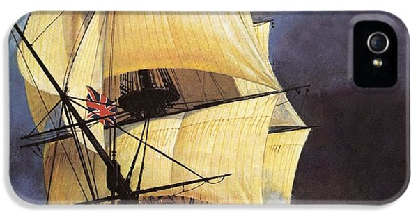 Hms Victory IPhone 5 Case by Andrew Howat