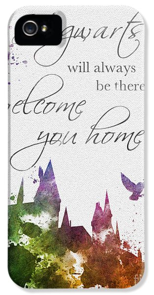 Hogwarts Will Welcome You Home IPhone 5 Case