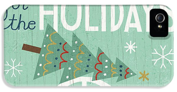 Illustrative iPhone 5 Case - Holiday On Wheels I by Michael Mullan