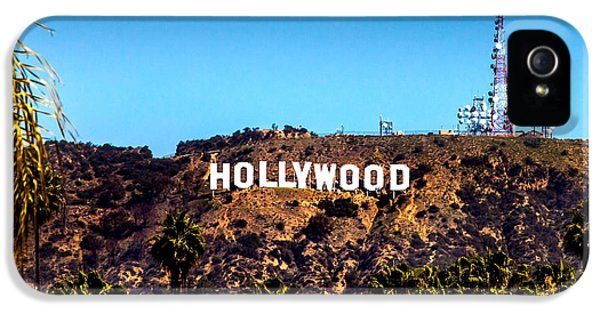 Hollywood Sign IPhone 5 Case