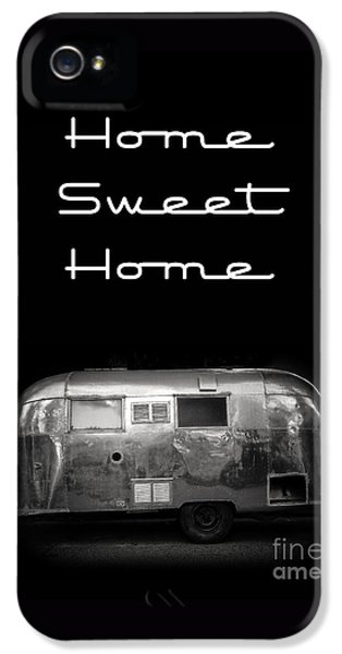 Home Sweet Home Vintage Airstream IPhone 5 Case by Edward Fielding