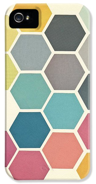 Honeycomb II IPhone 5 Case by Cassia Beck