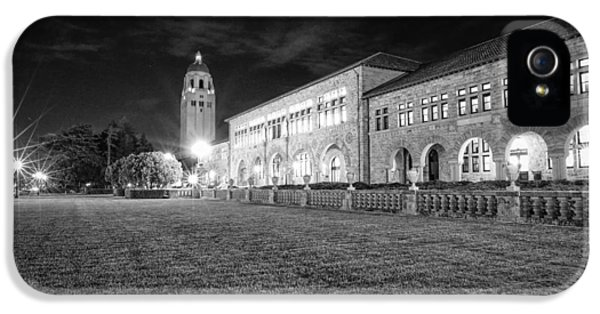 Hoover Tower Stanford University Monochrome IPhone 5 Case by Scott McGuire