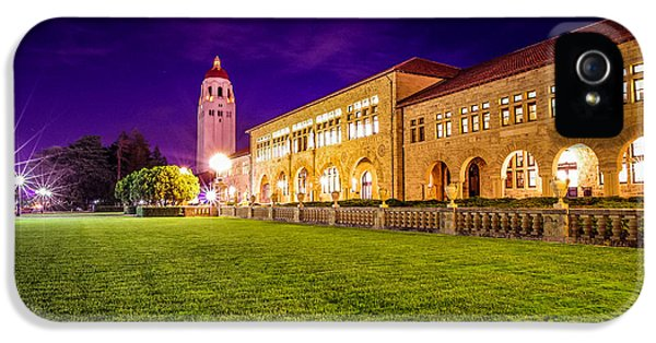Hoover Tower Stanford University IPhone 5 Case by Scott McGuire