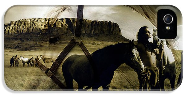Horse Dreams IPhone 5 Case by Marvin Blaine