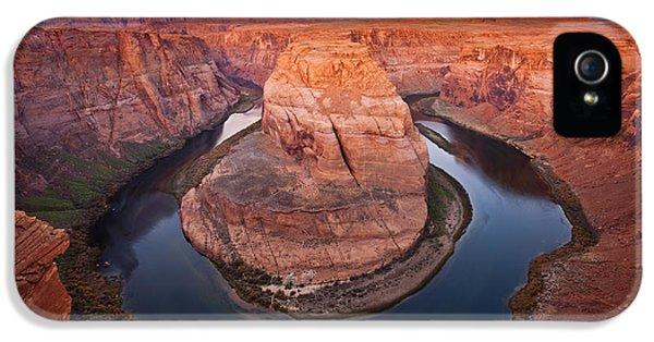 Desert iPhone 5 Case - Horseshoe Dawn by Mike  Dawson