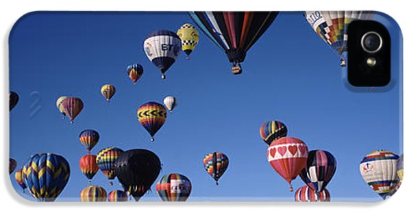 Hot Air Balloons Floating In Sky IPhone 5 / 5s Case by Panoramic Images