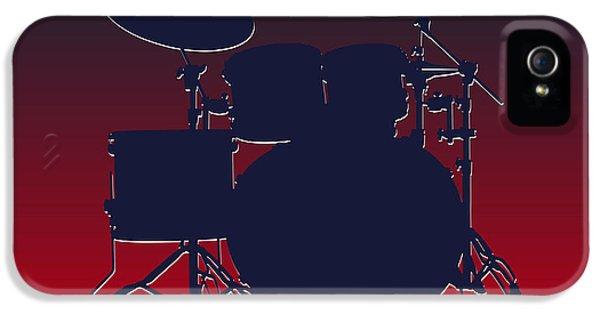 Houston Texans Drum Set IPhone 5 Case by Joe Hamilton