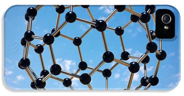 Hovering Molecule IPhone 5 Case by Carlos Caetano