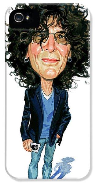 Howard Stern IPhone 5 Case by Art