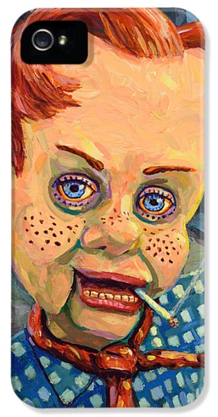 Howdy Von Doody IPhone 5 Case by James W Johnson