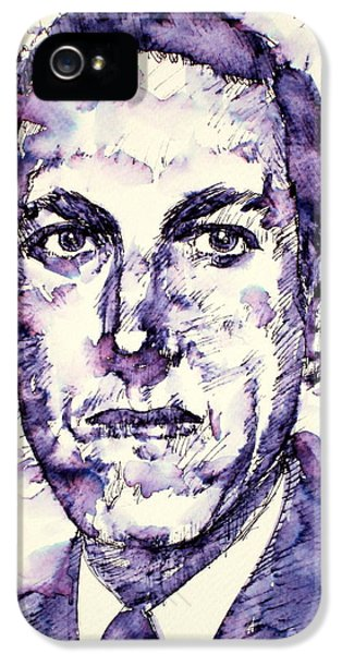 H.p. Lovecraft  Portrait IPhone 5 Case