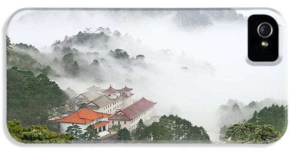 Huangshan National Park IPhone 5 Case by King Wu