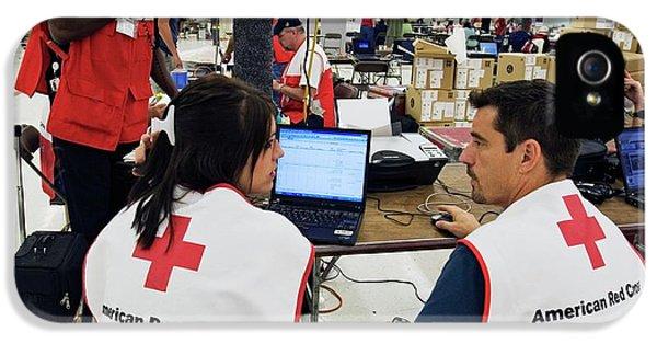 Hurricane Katrina Coordination Centre IPhone 5 Case by Jim West