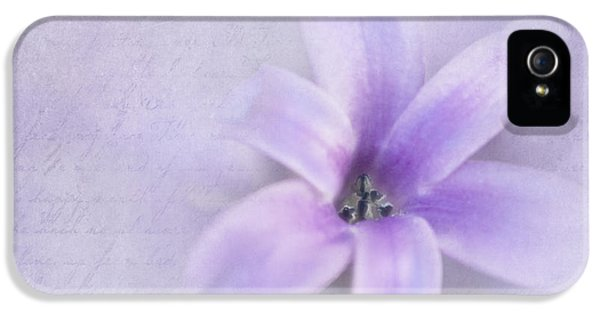 Hyacinth V IPhone 5 Case by David and Carol Kelly