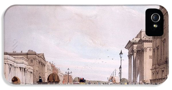 Hyde Park Corner, Looking IPhone 5 Case by Thomas Shotter Boys