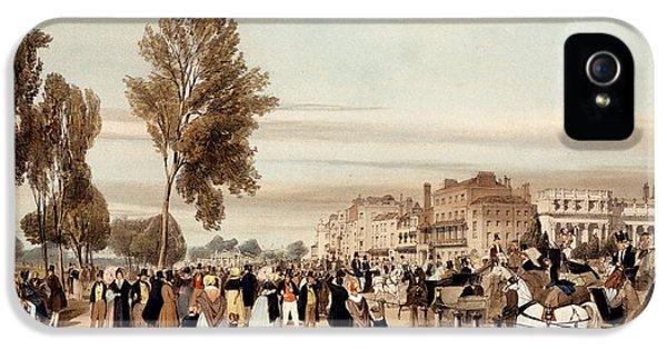 Hyde Park, Towards The Grosvenor Gate IPhone 5 Case by Thomas Shotter Boys