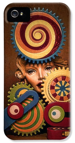 Hypnotic Woman 1 IPhone 5 Case