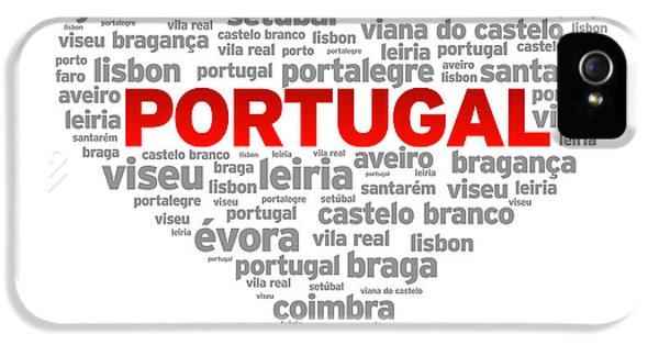 I Love Portugal IPhone 5 Case by Aged Pixel