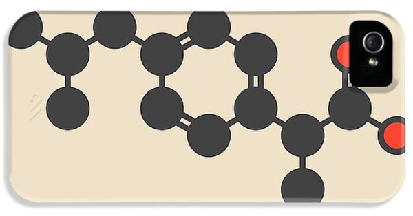 Ibuprofen Inflammation Drug Molecule IPhone 5 Case by Molekuul