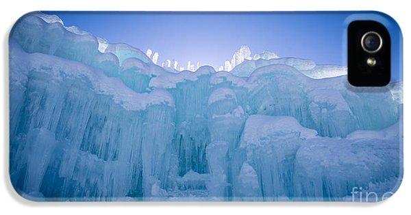 Ice Castle IPhone 5 Case by Edward Fielding