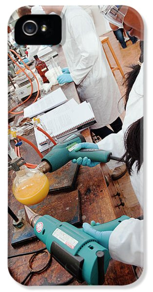 Identifying The Chemicals In Orange Peel IPhone 5 Case by Rob Judges/oxford University Images