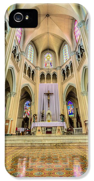 Iglesia De San Isidro De Coronado In Costa Rica Vertical IPhone 5 Case