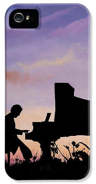 Il Pianista IPhone 5 Case by Guido Borelli