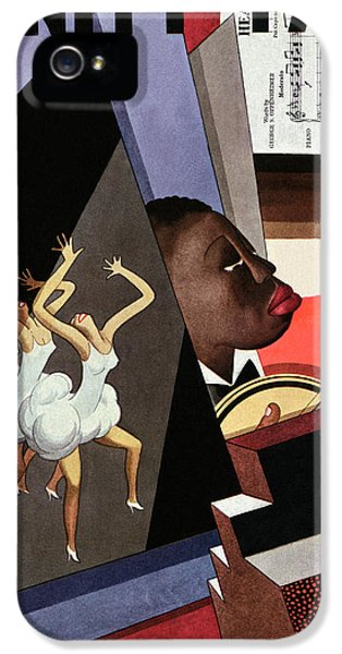 Illustration Of Harlem Entertainers IPhone 5 Case by William Bolin
