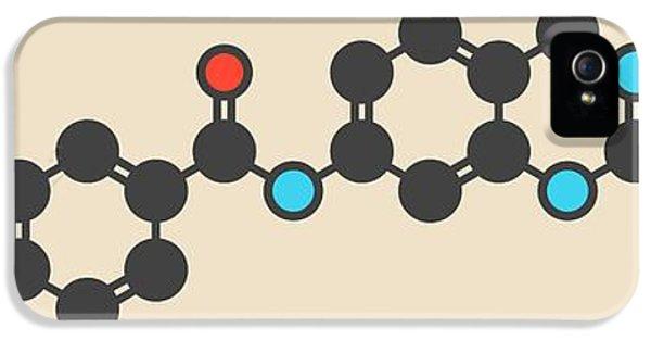 Imatinib Cancer Drug Molecule IPhone 5 Case by Molekuul