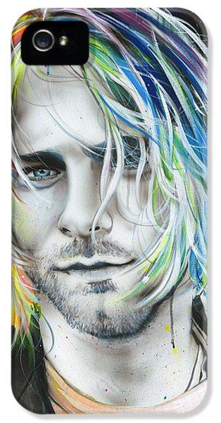 Kurt Cobain - ' In Debt For My Thirst ' IPhone 5 Case