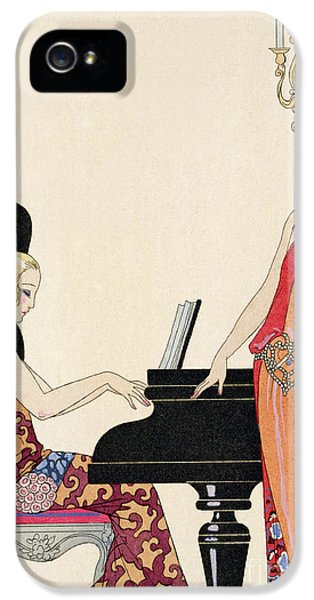 Incantation IPhone 5 Case by Georges Barbier